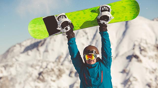 スキーの再塗装