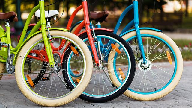 自転車のフレームを自分で塗装